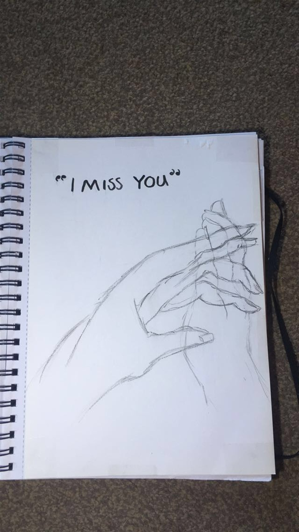 960x1704 i miss you by louise barton miss you sketch