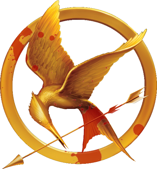 Mockingjay Pin Sketch