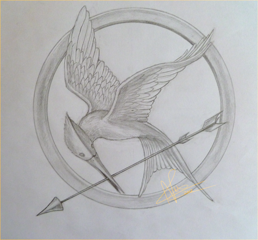 530x493 Look - Mockingjay Sketch