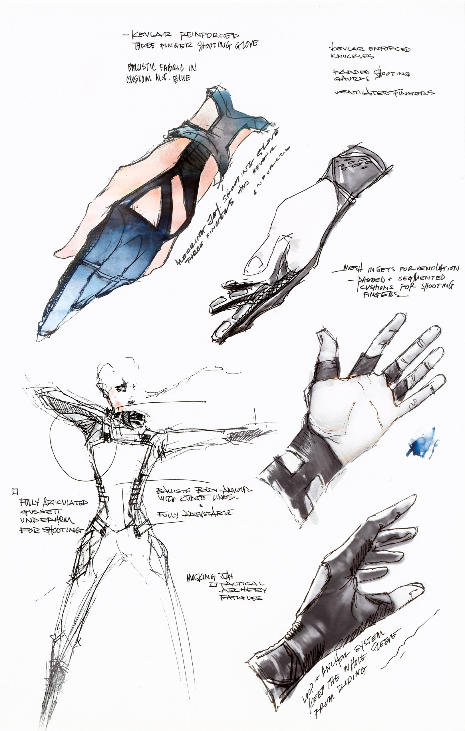 1629x2560 Hunger Games Mockingjay Sketches Of The Battle Outfit Time - Mockingjay Sketch